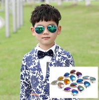 beach gift wrap - New Kids TAC Polarized goggles baby children sunglasses UV400 sun glasses boy girls cute cool cycling glasses with gift Car Case