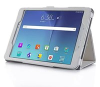 auto premiums - SAMSUNG Galaxy Tab A P550 inch Premium PU Leather Folio Stand Case Smart Auto Wake Sleep Cover with Hand Strap Card Slot and stylus loop