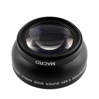 Wholesale 52mm Fisheye x Super Wide Angle Lens Professional MACRO For Nikon D3200