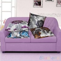 Wholesale Fashion Floral Throw Waist Pillow Case Cushion Cover Shell Car Sofa Home Decors OES