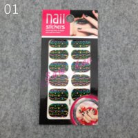 art investment - 20Sets Mix Styles Fashion d DIY Laser Crystal Diamond Nail Art Stickers art investment