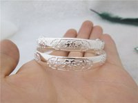 Wholesale Factory direct China ethnic jewelry Miao silver bracelet blessing Silver Bracelet Sterling Silver Bracelet ladies