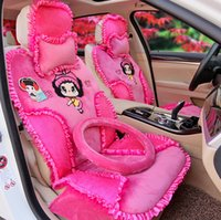 pink car seat covers - Warm Car Seat Covers Winter Seat Cushions For Cars Humanized Design Cheaper Car Interior Accessories Multiple Colors To Choose Winter
