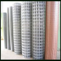 Wholesale 1 m Galvanized Welded Mesh Fence With Inch Or Inches Aperture BWG16 Wire Gauge