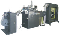automatic silk screen machine - Automatic Roll to Roll Silk Screen Printer on Films Full automatic monochrome film screen printing machine Screen printing equipment