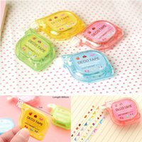 Wholesale Korea Stationery Cute Push Correction Tape Lace for letter School supplies