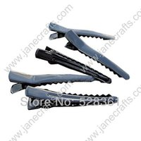 alligator clips for crafts - mm Inch Black painted Single Prong Alligator Clips New Hot Hair Accessories for Craft