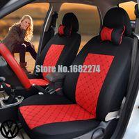 Wholesale 2 front seat Universal Car Seat Cover volkswagen vw passat b5 b6 polo golf tiguan jetta touran touareg stick er accessorie s