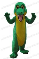 Wholesale AM2062 Crocodile mascot costume ocean animal mascot suit Halloween costume sports mascot party costumes Fur mascot
