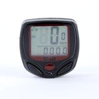 Wholesale Newest Bicycle Bike Computer LCD Odometer Speedometer Stopwatch Speed Meter