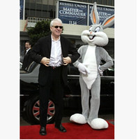Mascot Costumes easter bunny costumes - Hot sell Easter grey bugs bunny Mascot Costumes EMS