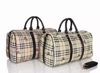 Cuoio degli uomini di modo del PVC del sacchetto di spalla All'ingrosso-Nuovo viaggio zaino marche uomo borsa di affari esterni borse viaggio UK Large