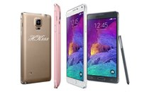 Wholesale New Arrival inch HDC Note4 SM N9100 MTK6572 RAM MB ROM G Dual Core Android4 Mult Languages Unlocked MP camera