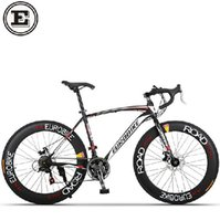 Wholesale 21 speed Cx23C road racing bike carbon steel frame mountain road bicicleta compete bicycle