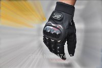 Wholesale PRO BIKER motorcycle gloves racing buggy spring and summer gloves knight full finger gloves breathable protection High quality Authentic