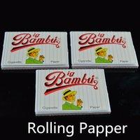 50 Booklets best rolling machine - BIG BAMBU Cigarette Rolling Paper X66mm Best Tobacco Rolling Papers for Smoking mm Automatic Cigarette Rolling Machine booklets box