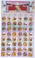 Wholesale popular cartoon Winnie the pooh logo Badge Garment accessories for party size cm