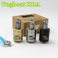 Cheap 2014 The Newest Style stainless steel tugboat atomizer clone Rebuildable Atomizer RDA tugboat atomizer vs dark horse taifun GT Monster cloud