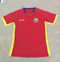 romania-soccer-jersey - New Romania soccer jersey Men Red Color Survetement Football Shirt Top Quality Hot Sell
