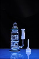 bottle water bottle - Lovely Baby Feeding Bottle Base Glass Bong Thick Mothership Thick Glass Bongs Fab Egg Water Pipe Recycler Oil Rigs Smoking Pipes joint