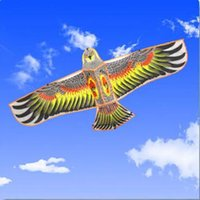 Wholesale NEW Huge m Eagle Kite single line Novelty animal Kites Children s toys