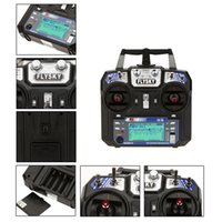 Cheap High Quality Flysky FS-i6 AFHDS 2A 2.4GHz 6CH Radio System Transmitter for RC Helicopter Glider with FS-iA6 Receiver