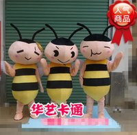 bee wig - Cartoon show props show walking cartoon bee bee promote its clothes props accessories wig doll dress Mascot Costumes