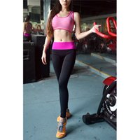 wholesale yoga pants - Women Sports Pants Force Exercise Women Sports Yoga Tights Elastic Fitness Running Trousers New Arrival Slim Aerobics Pants