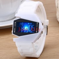 airplane designer - Fashion irregular Cool reloj led Digital Electronic Wrist Watches Fashion airplane Watch designer great gift for hin or her