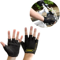Wholesale Black Half finger Bicycle Gloves Authentic MTB gloves Bicycle Road Bike Cycling Gloves Mountain Bike Mitten CYC_90J