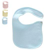 Wholesale New Arrival Newborn Baby Bibs Cotton Solid Absorbent Bibs Burp Cloths Boys Girls Saliva Towel Bibs For Babies VT0127