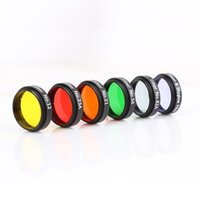 Wholesale Six Color Filters Nebula Filter Lens Glass Filters with Case for Astronomical Telescope