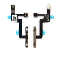 Wholesale 100 Original For Iphone Plus Power Volume adjustment Flash Mute Switch Button Control Flex Cable With Microphone for iphone plus