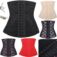full steel boned corset - Sexy Upgrade Shapewear Women Full Steel Boned Waist Training Corset Underbust Bustier Colors Size XS XL