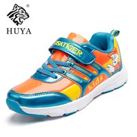 best hard candy - Best Sale Children Spring Autumn Kids Casual Lae up Mesh Letters Candy Color Baby Boys Breathable Sport Dhoes Girls Fashion Sneakers