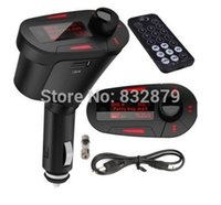 bentley cars sale - On Sale Red Color New Green Kit Transmitter Car MP3 Player Wireless FM Transmitter Modulator USB SD MMC LCD Remote