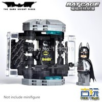 batting cage - MOC My Own Creation BATMAN The Bat Cage Base DC Super Heroes Avengers Model Building Blocks Minifigures Toy Compatible With toy