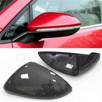 Wholesale 1 Replacement Style For VW Volkswagen Golf R Gti Carbon Fiber Rear View Mirror
