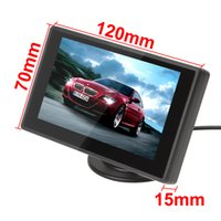 lcd monitor - Sale Five Star Feedback Inch TFT LCD Car Parking Rear View Monitor rearview monitor Video Input for Reverse Camera DVD CMO_363