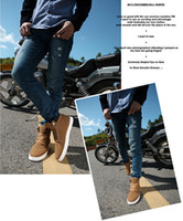 Cheap Men's Casual Fashion High Top Shoes Best Mens Fashion Spring Autumn Leather Shoes