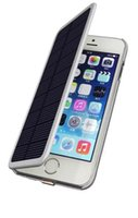 solar phone case - Solar Power Phone Case Solar Power Bank Phone Case Leather Flip Cell Phone Cover Mobile Phone Cover For iPhone Plus UPS