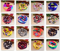 Wholesale new Classic Children s Cotton Scarf Kids Boy Girl Ring Scarves Shawl Unisex Winter Kinitting Stars Collar Neck Warmer Star Wraps SD16 s01
