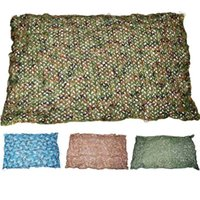 Wholesale 2 m Oxford Cloth Woodland Leaves Camo Cover Military Camouflage Camo Net for Hunting Covering CS Bird Watching