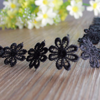 Wholesale 20yards Lace Trim Ribbon Multicolor Embroidered Floral Appliques Patches Fabric Home Decoration Garment Accessories YR0012