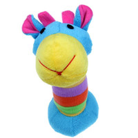 Wholesale Moppets Dog Toy Plush Cow Toy with Squeaker