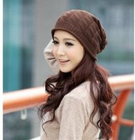 Wholesale 2014 Fall autumn winter korean fashion new women and men crochet hats caps beanie woolen knitted hat yp002