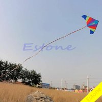 Wholesale pc M Super Nylon Stunt Rainbow Kite Tail Line Kite Accessory Kids Gift order lt no track