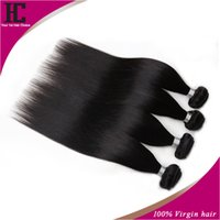 Wholesale Silky Indian Body Wave - silky straight Grade 7A Peruvian Virgin Hair Straight 3Pcs Lots Rosa Hair Products 100% Peruvian Human Hair Extensions Bundles Free Shipping