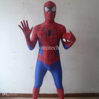 amazing spider game - The Amazing Spiderman spider man spider man tight clothing super hero halloween costumes for adult kids men cosplay clothes