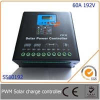 auto identification - 60A V PWM Solar Charge Controller with LED LCD Display Auto Identification Voltage MCU design with excellent performance